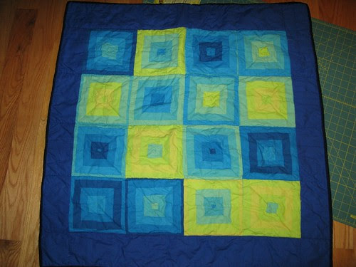 Blue Project Linus Quilt