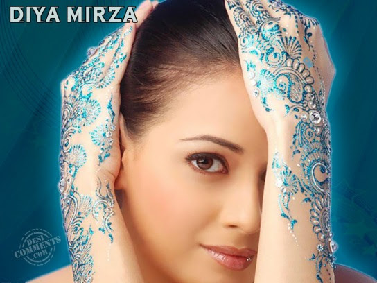 Indian Actress Diya Mirza hot and beautiful wallpaper