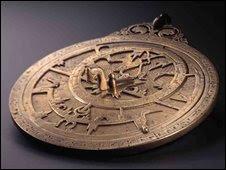 Planispheric Astrolabe, Iran or Oraq, 985AD at the Qatar Islamic Art Museum