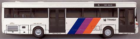 jersey transit commuter bus