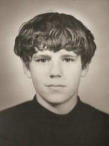 My passport picture around my 15th birthday in 1970