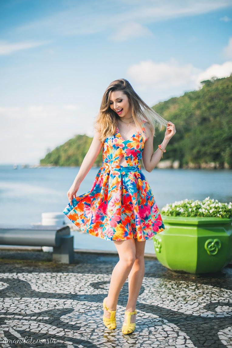 1-looks coloridos para o verão