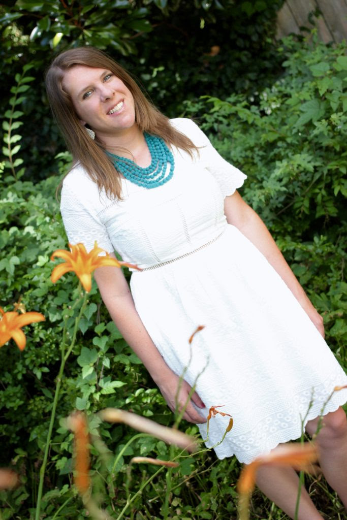new little white dress