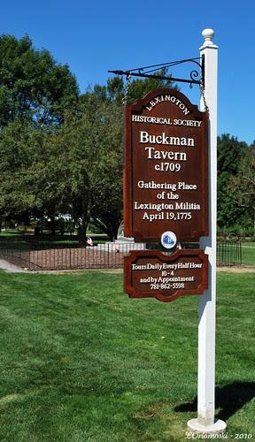 Buckman Tavern - Lexington