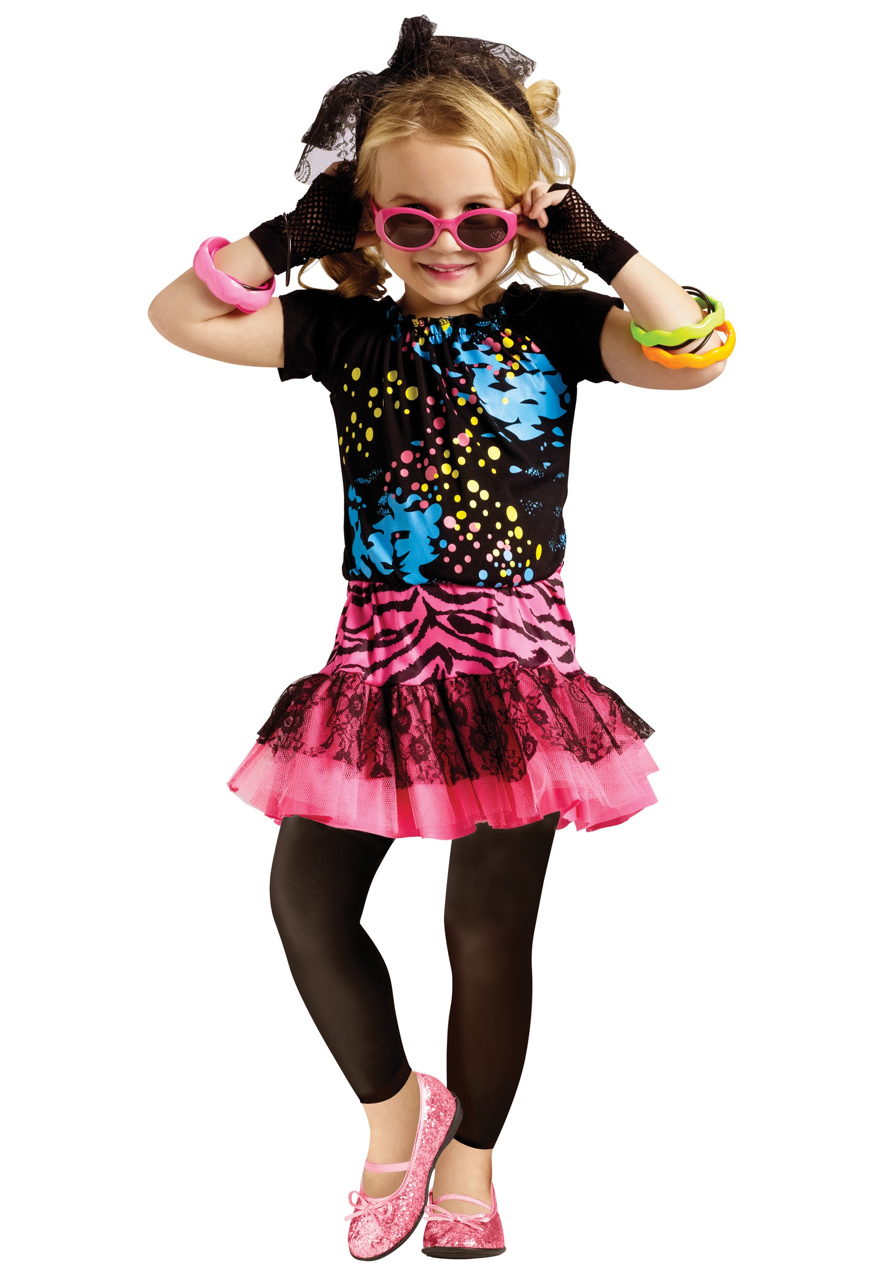 80s Pop Party Toddler Costume Halloween Costume Ideas 2018