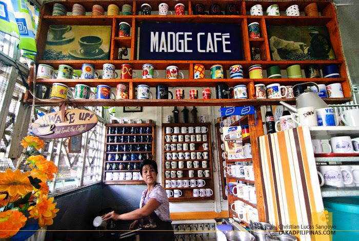 At Madge Café in Iloilo City