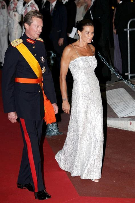 Princess Stephanie in Royal wedding reception dinner   Zimbio