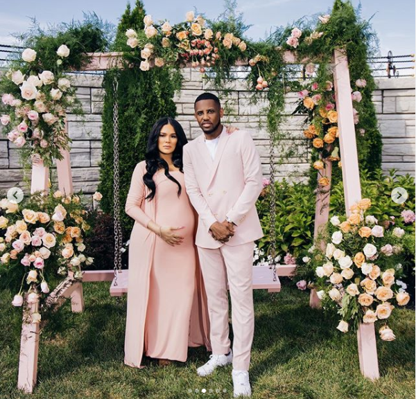 Rapper Fabolous and Emily Bustamante celebrate Baby No. 3 with ?Baby In Bloom? baby shower (Photos)