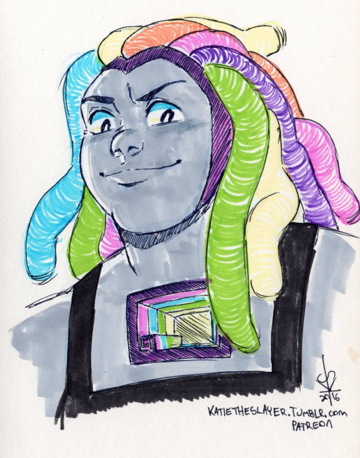 DRAWS A HAPPY BISMUTH AND PRETENDS NOTHING BAD EVER HAPPENED!!!!!!!! THAT EPISODE FUCKED ME UP!!!!!!