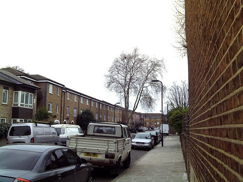Handley Road, Kingshold Estate, London E9, March 2012