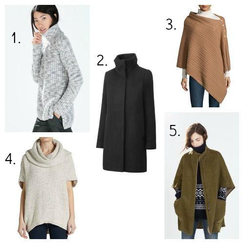 Zara Sweater - Uniqlo Coat - Neiman Marcus Cape - Saks Fifth Avenue Sweater - Zara Cape