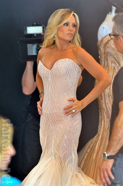 PHOTOS Tamra Barney tries on wedding dresses