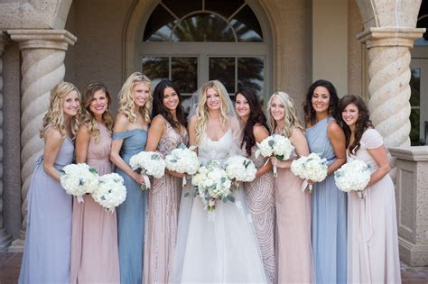 Mismatched Bridesmaid Dresses The Easy Way   A Practical