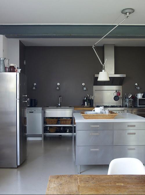 How To Create Grey Walls Kitchen - Interior Design ...