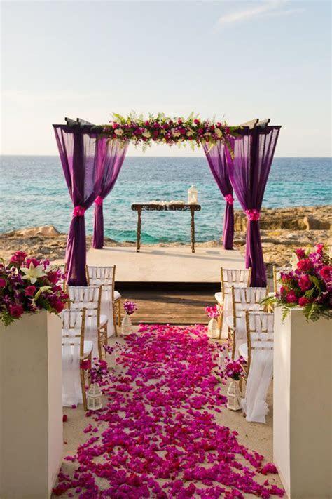 Jamaica Destination Wedding Inspiration with Tropical