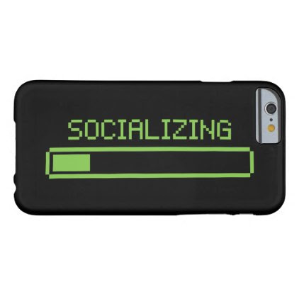 Socializing Barely There iPhone 6 Case