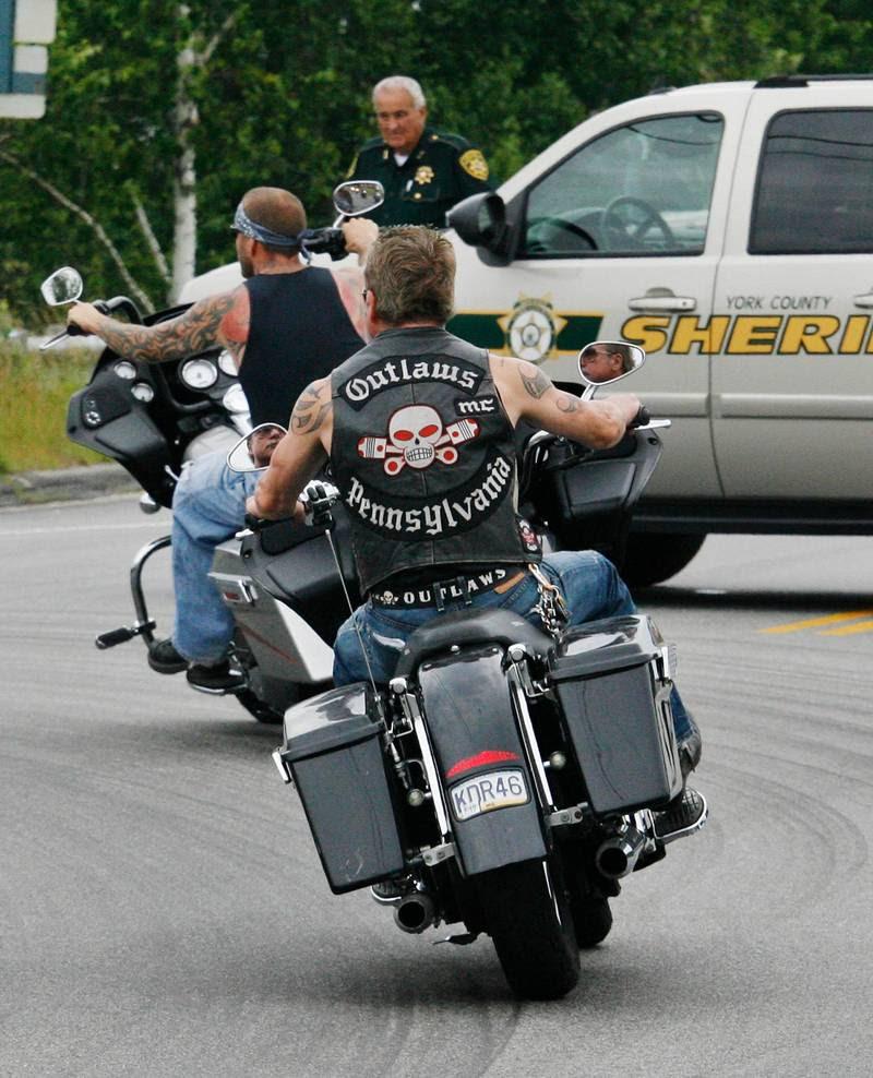 Outlaws er måske ikke så kendte i Danmark, men på verdensplan er de en organisation, man er tvunget til at forholde sig til Foto: AP