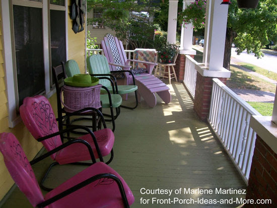 Porch Decorating | Front Porch Decorating Ideas | Front Porch Ideas