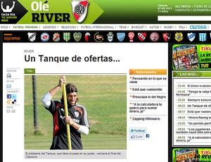 Olé Tanque River Plate (Foto: Olé)