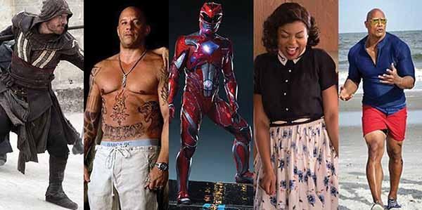Estreias de 2017: Assassin's Creed, xXx: Reativado, Power Rangers, Estrelas Além do Tempo, Baywatch (Foto: Divulgação)