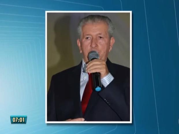Prefeito de Catende foi preso durante a Operação Tsunami  (Foto: Reprodução/TV Globo)