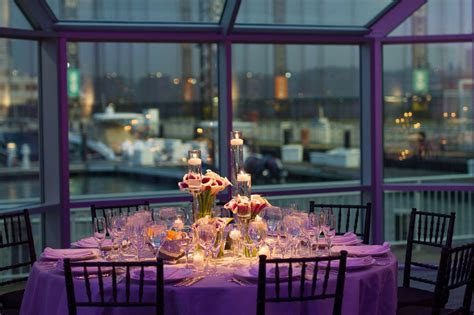 Table Setting at Current, Pier 59   Pier Sixty, The