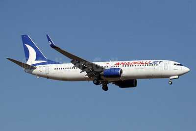 AnadoluJet (Turkish Airlines) Boeing 737-8FH WL TC-JHI (msn 35092) AYT (Paul Denton). Image: 911545.