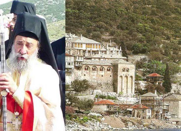 Αποτέλεσμα εικόνας για του Καθηγούμενου της Μονής Δοχειαρίου, Αρχιμανδρίτη Γρηγόριου