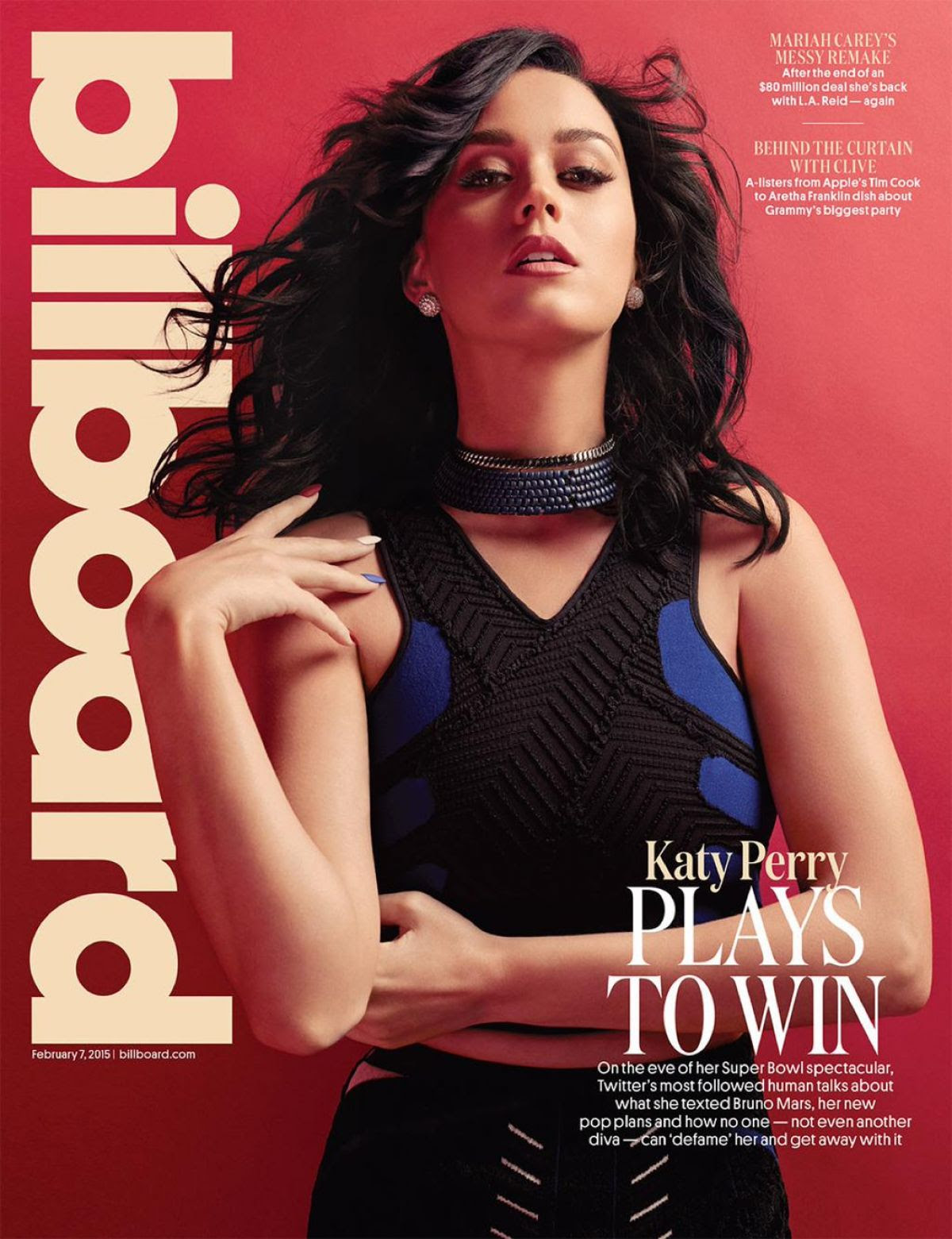 KATY PERRY in Billboard Magazine, February 2015 Issue