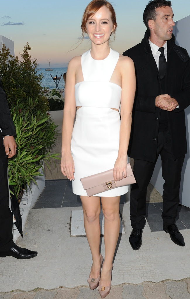 Vanity Fair and Channel Dinner Party arrivals