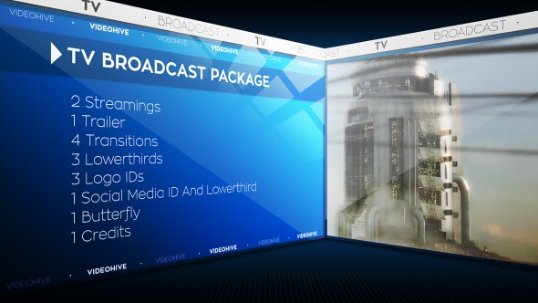 TV Broadcast Package - After Effects Template | VideoHive