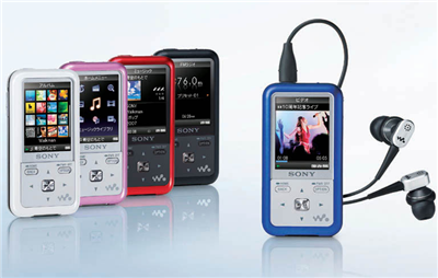 Sony NW-S710F and NW-S610F Video Walkman