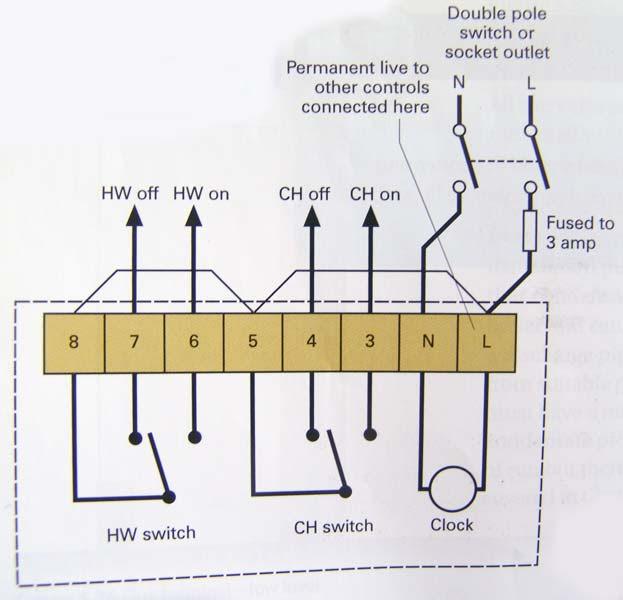 Time Clock Wiring Diagram