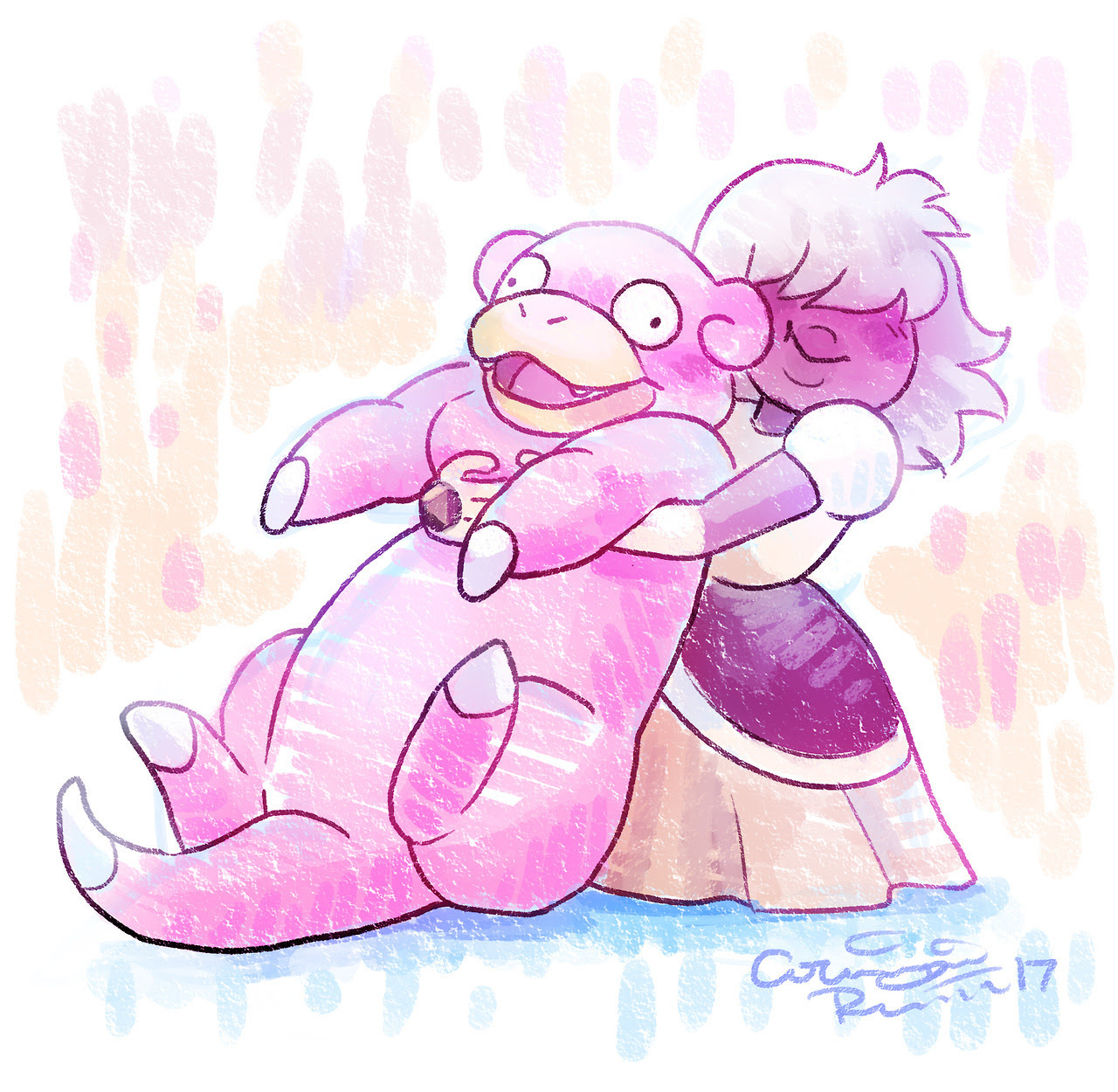 My roommate said Padpara was like a slowpoke and I died a little