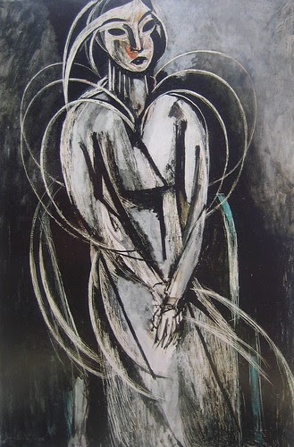 Portrait of Yvonne Landsberg, Henri Matisse, 1914
