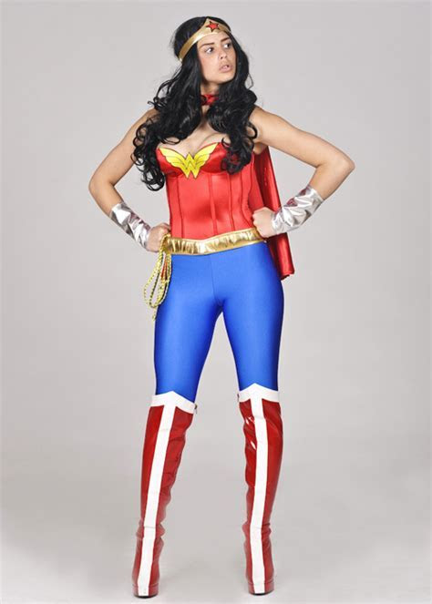 Wonder Woman Costume With Leggings