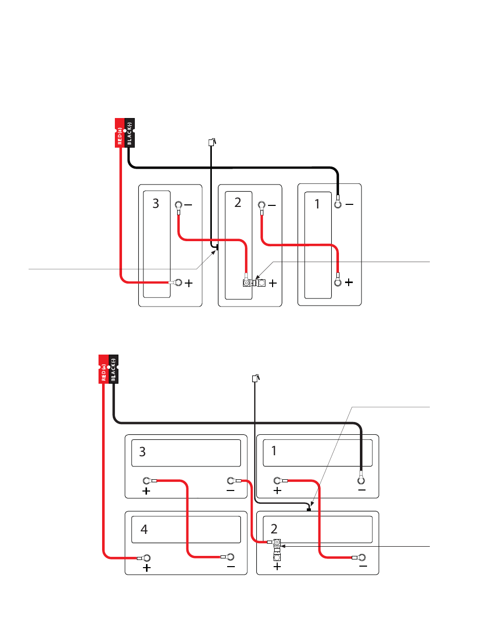 4 Battery Wiring Diagram