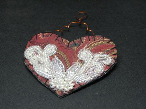 fabric heart004