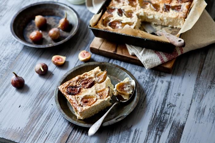 """Tartelette: Fig """"Gateau de Riz"""", Miso Salmon & A ..."""