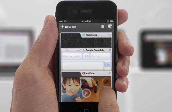 Chrome no iPhone é um sucesso entre os usuários (Foto: Reprodução)