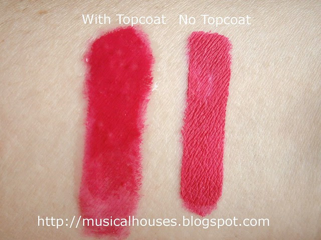 MUFE Aqua Rouge 16 swatch