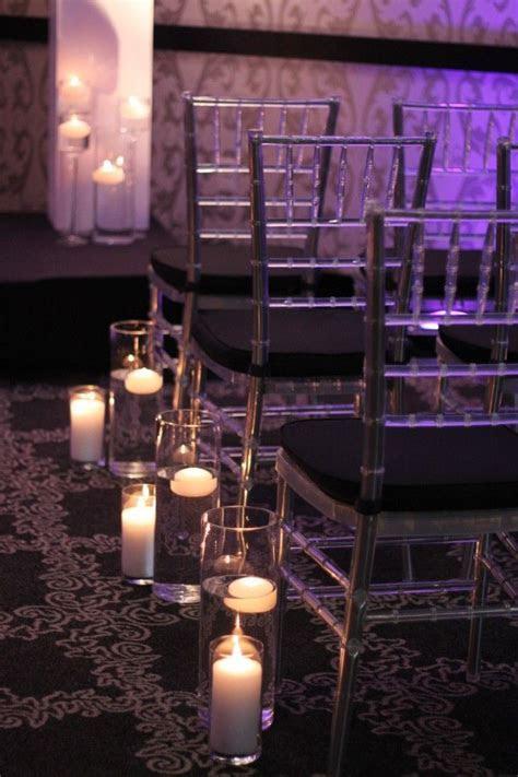 Fleur:ology Ceremony Floral Decor, candle aisle decor