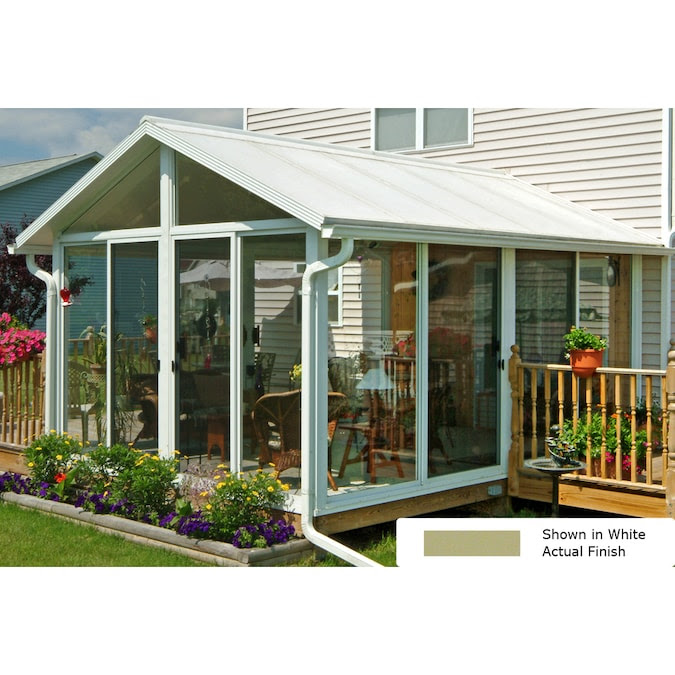 Easyroom By Great Day Improvements 11 X 12 Aluminum Sunroom Kit In The Sunroom Kits Department At Lowes Com