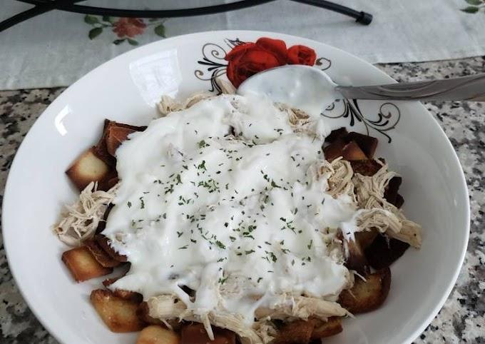 Recipe: Delicious Chicken fatteh 🐔