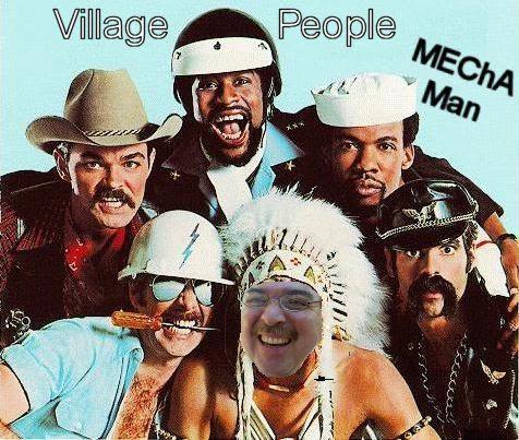 MEChA, MEChA, MEChA man - I've got to be a MEChA man