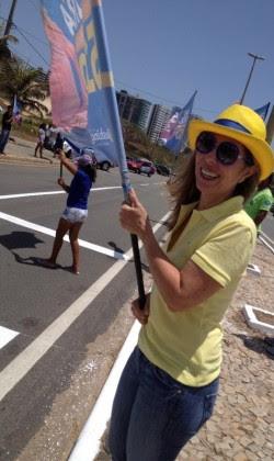 Candidata Clara Moreira