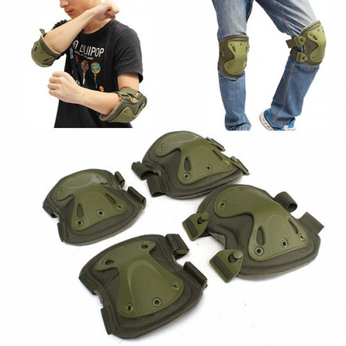 Tactical Knee Pads Elbow Protection Electric Unicycle Practice Gear Skate Guard Pad  Alex NLD