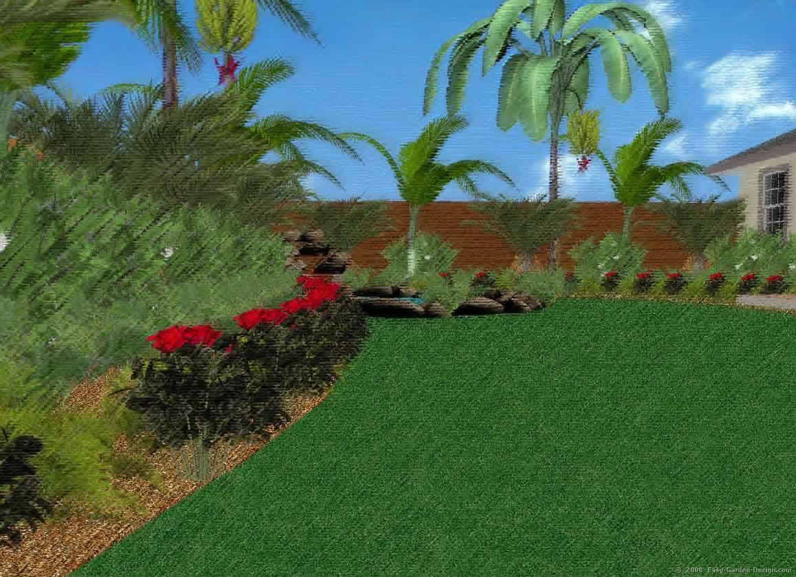 tropical garden ideas queensland - Garden Design Tropical