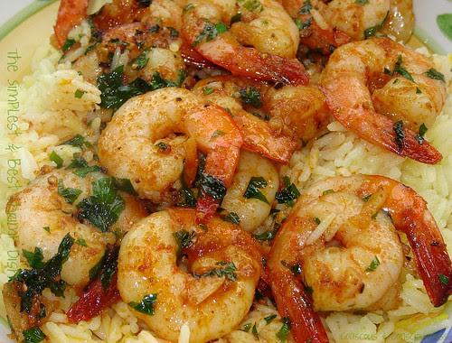 The Simplest & Best Shrimp Dish 1