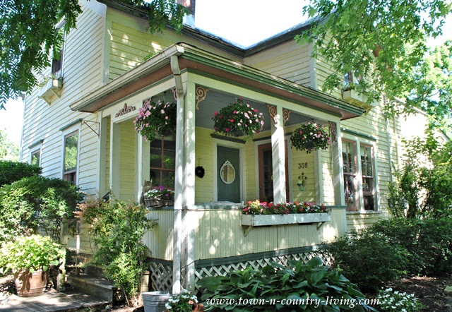 Farmhouse Front Porch at Town and Country Living